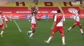 La belle tête de Guillermo Maripan contre Marseille. dugout