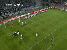 Les buts du PSG lors de la victoire 4-2 au Vélodrome. DUGOUT