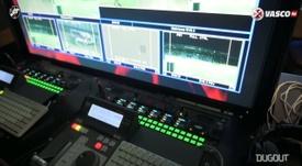 Bastidores da vitória do Vasco sobre o Madureira. DUGOUT