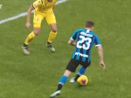 Lo spettacolare goal di Barella a Verona. Dugout