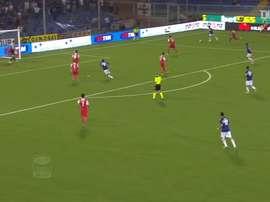 Muriel dejó huella en la Sampdoria a base de goles. DUGOUT