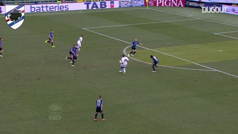 Le superbe but de Luis Muriel contre l'Atalanta. DUGOUT