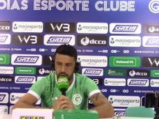 Edilson falou sobre a fase do Goiás, lanterna com onze pontos em 16 jogos. DUGOUT
