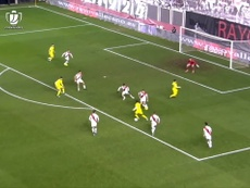 Santi Cazorla helped Villarreal beat Rayo in the last 16 of the Copa del Rey. DUGOUT