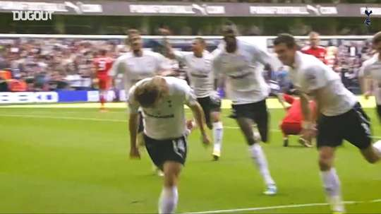 Tottenham have scored some crackers against Liverpool over the years. DUGOUT