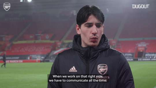 Bellerin: 'Saka wants to learn all the time'. DUGOUT