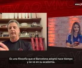 La filosofía del Barça inspiró a Flamengo. DUGOUT