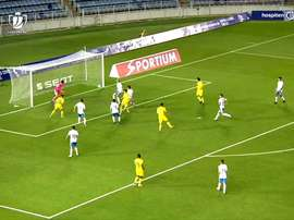 A brilliant backheel by Fer Nino sent Villarreal into the last 16 of the Copa del Rey. DUGOUT