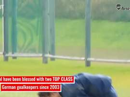 Bernd Leno: Arsenal's number one. DUGOUT