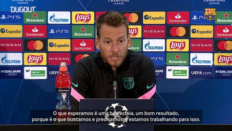 Neto projeta boa estreia do Barça na Champions. DUGOUT