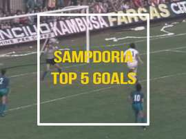 Sampdoria have scored some good goals at Sampdoria over the years. DUGOUT
