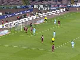 Les meilleurs buts de Naples contre l'AS Roma à domicile. Dugout