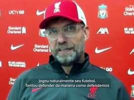 Treinador alemão do Liverpool falou sobre a estreia do atacante português. DUGOUT