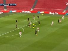 Tadic culminó una buena jugada coral del Ajax. Dugout