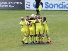VIDEO: Katie Chapman grabs Chelsea winner at Birmingham. DUGOUT