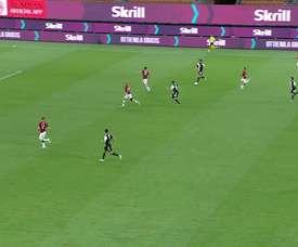 Rabiot faz seu primeiro gol na Juventus. DUGOUT