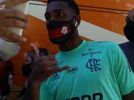 Flamengo treina para o confronto direto diante do Palmeiras. DUGOUT