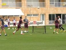El Villarreal introdujo esta curiosa forma de entrenarse. Dugout