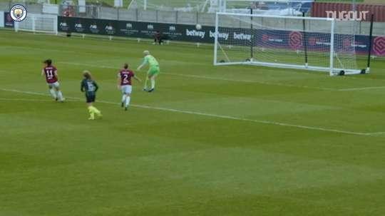 Hemp's best goals for Manchester City. DUGOUT