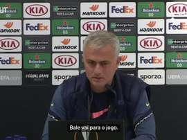 Mourinho considera Bale um exemplo para os jogadores do Tottenham. DUGOUT