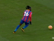 Sako's fine goal gives Palace win over Burnley. DUGOUT