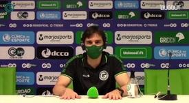 Thiago Larghi vê grupo comprometido para reação no Goiás. DUGOUT