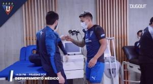 Liga de Quito begin their preseason. DUGOUT