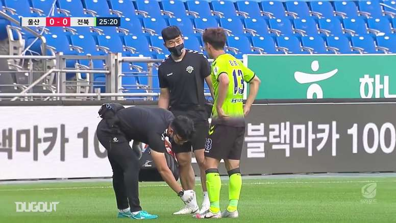 Jeonbuk won 0-2 at Ulsan in the big K-League clash. DUGOUT