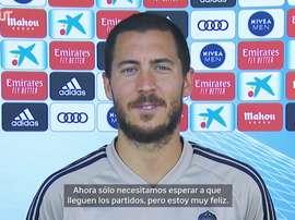 VÍDEO: las primeras impresiones de Hazard tras el parón. DUGOUT