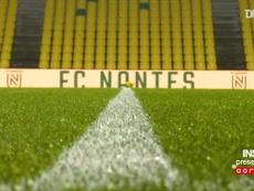 Les meilleurs moments de la victoire du PSG face à Nantes en Ligue 1. dugout