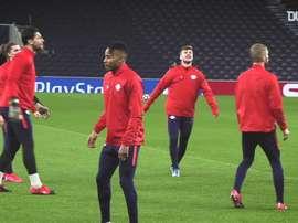 Timo Werner treina com RB Leipzig. DUGOUT