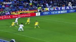 Golaço de Kaká pelo Real Madrid contra o Apoel. DUGOUT