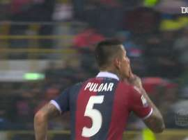 Erik Pulgar gave Bologna the three points over Sassuolo back in 2018. DUGOUT