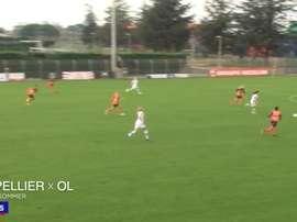 TOP 5 buts OL Féminin contre Montpellier. dugout