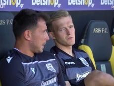 PAOK Salonika won 0-2 at Aris last Sunday. DUGOUT