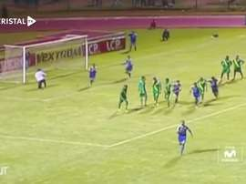 Sporting Cristal got a last gasp win at Sport Huancayo in 2014. DUGOUT