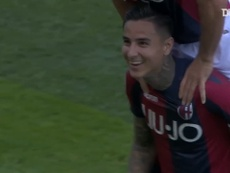 Pulgar's free-kick helped Bologna beat Sampdoria back in 2019. DUGOUT