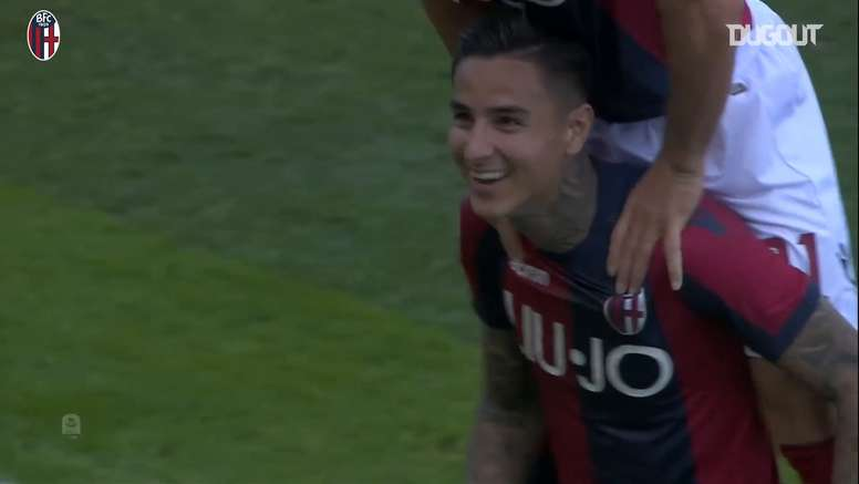 Pulgar's free-kick helped Bologna beat Sampdoria back in 2019. DUGOUT