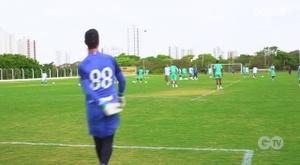 VIDEO: Goiás' training session. DUGOUT