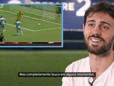 Bernardo Silva falou sobre Balotelli em vídeo com feito pelo Manchester City. DUGOUT