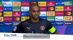 Fernandinho exaltou a equipe após garantir o primeiro lugar no grupo. DUGOUT