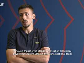 Lenglet spoke ahead of the match. DUGOUT