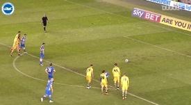Le triplé de Tomer Hemed contre Fulham. DUGOUT