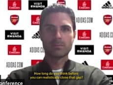 Arteta focused on building the right spirit at Arsenal. DUGOUT