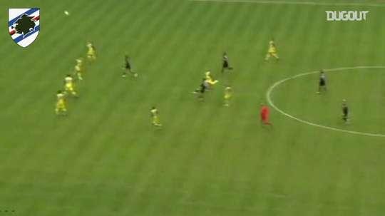 L'incredibile goal di Quagliarella. Dugout