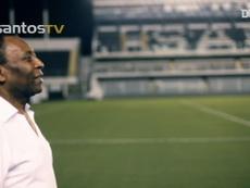 La légende Pelé. Dugout