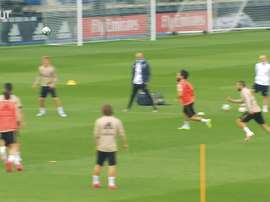 Real Madrid trained for the fourth time since full team training was permitted. DUGOUT