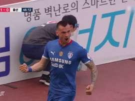 Futebol sul-coreano precisou se adaptar à nova realidade. DUGOUT