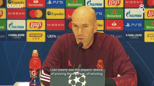 Zinedine Zidane understands the importance of RM's game with Shakhtar. DUGOUT
