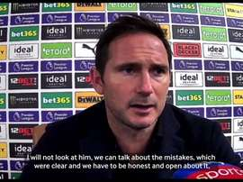 Lampard discusses his new signing. DUGOUT